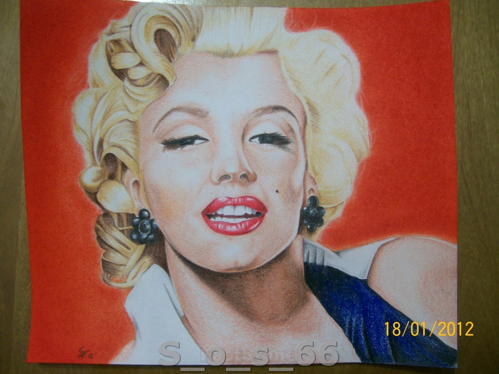 Realismo a Color - Marilyn Monroe