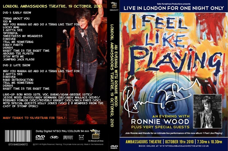 Ronnie Wood - Live In London For One Night Only - 2010