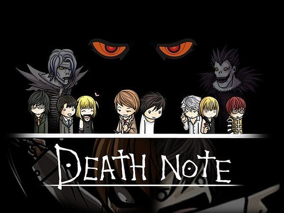 Mi adorable primer post x3 con imagenes de death note